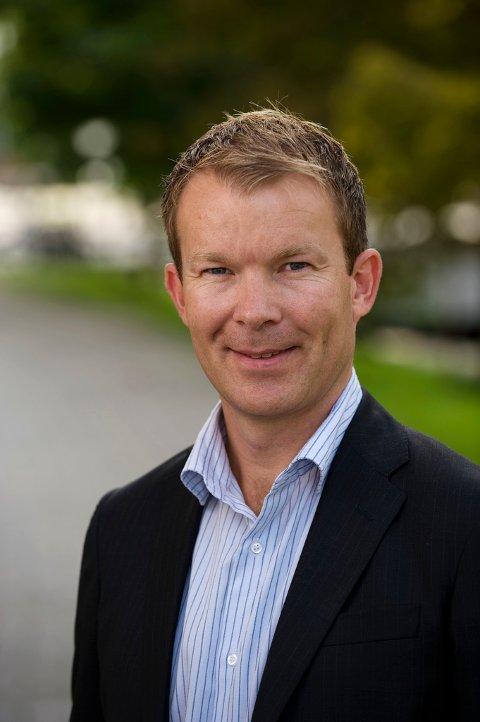 DNB lover å ordne opp. Her ser vi informasjonsdirektør Thomas Midteide.