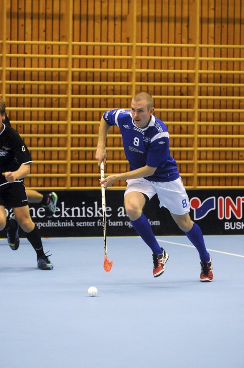 Nyervervelsen Henning Larsson (fra Tunet) noterte seg for to scoringer da NOR 92 serieåpnet mot Halden.