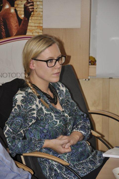 Lene Vågslid:– Vi må få klar beskjed om hva som trengs av penger og annet, understreket Lene Vågslid.