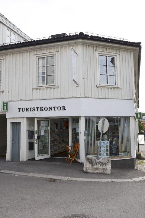 AVVIKLES: Tønsberg turistkontor i Storgaten 38 er snart historie. Turistene vil få info på andre måter/steder.Foto: Morten Børsum