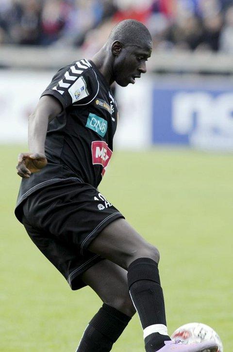 Cherno Samba er i Afrika med landslaget, og er én av flere spillere som FKT er nødt til å klare seg uten i bortekampen mot Valdres.