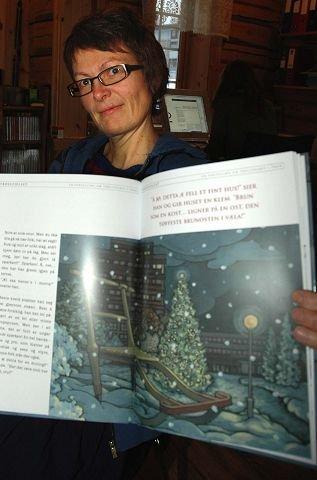 ILLUSTRATØR: Inger Helene Høyen Hodøl som står for bildene.
