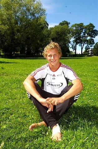 Vegar Eggen Hedenstad, fotballspiller fra Elverum. Spiller for Rosenborg i junior-elite-turneringen i Hamar 2007