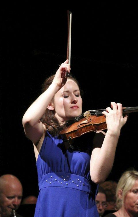 STJERNEN: Når Kolbotn konsertorkester henter solister av slik kvalitet kan det bli morsomt fremover.
