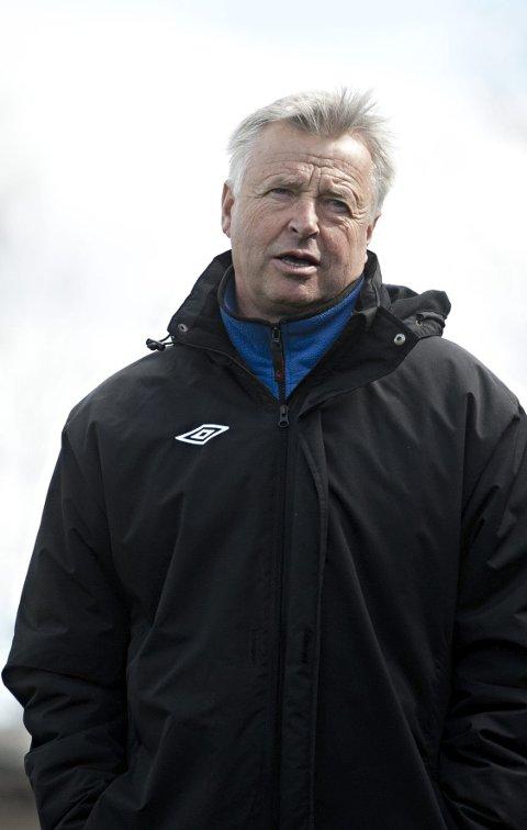 Tydelig: Arne Erlandsen setter høye krav til spillerne sine, og lykkes han blir MFK leie å ha med og gjøre i år.