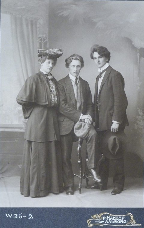 GODE VENNER: Percy Grainger ble raskt venner med cellisten Herman Sandby og hans pianistkone Alfhild de Luce Sandby fra Horten. Historien forteller at Percy og Alfhild fort ble et uoffisielt par.