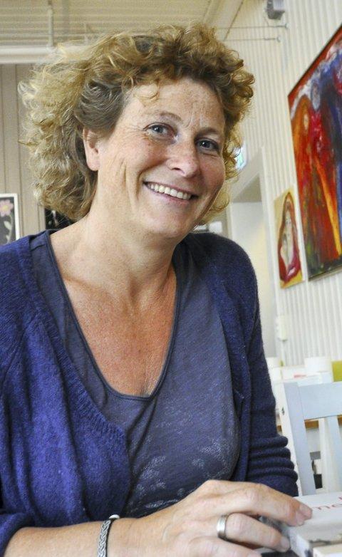 Spent: Hilde Hanson ser fram til møtet. Foto: Guri Larsen