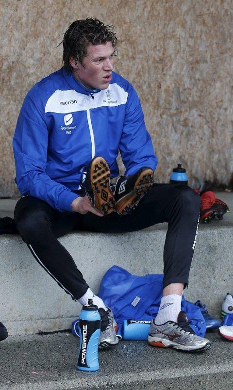 VIL FØLE SEG ØNSKET: Michael Haukås er tilbake for fullt etter en sesong på sidelinja. Nå må han finne ut hvor han spiller kommende sesong.foto: alfred aase