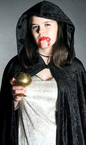 MystikkDet overnaturlige og det mørke fascinerer. alle foto: Marie Skarpaas Karlsen