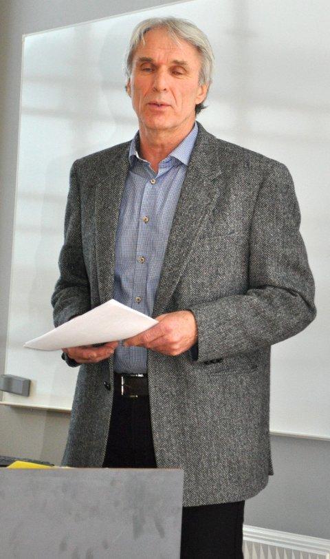 START: – Nå har vi planene så nå bygger vi videre på samarbeidet, sa høyskoledirektør Johnny Thorsen.