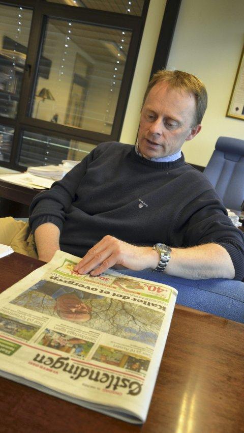 Taus: Trysil-rådmannen Kristian Trengereid sier ikke noe om den betente saken. Blant annet av etiske hensyn.