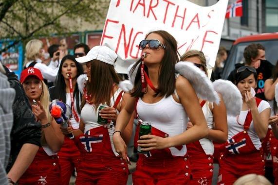 escortedate oslo norsk russ naken