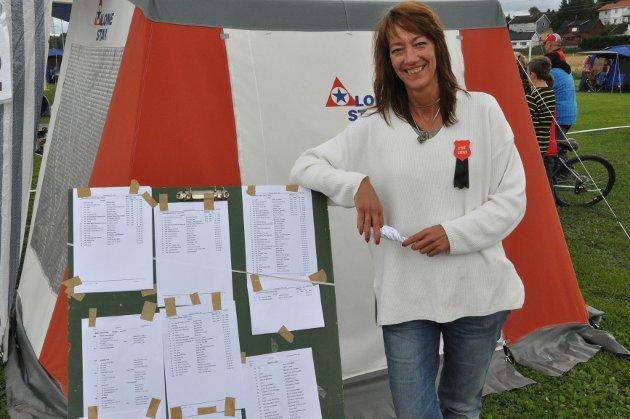 Leder i Norsk Terrier Klub avdeling Østfold  Therese Røsholdt var fornøyd med årets arrangement.