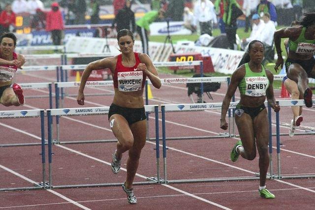 Christina Vukicevic, Friidrett   Tre hundredeler fra VM-finale