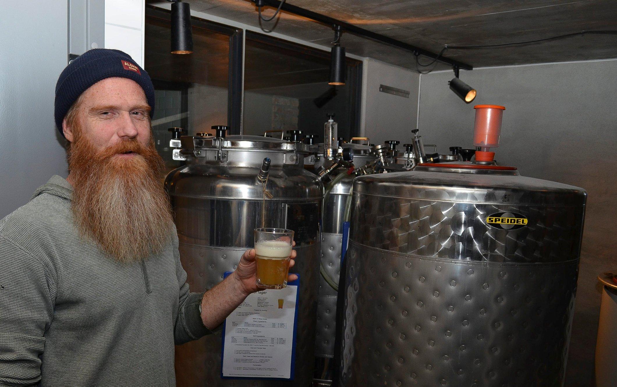Brygger opp til ny ølfestival i Hamar - vil bli Norges største